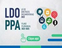 Câmara Municipal de Ilha Comprida CONVIDA para participação na Audiência Pública da LDO 2022 e PPA 2022-2025.