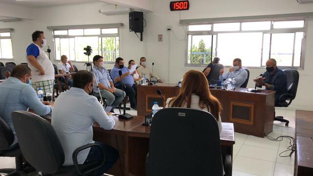 Reunião com representantes dos Comerciantes da Av. São Paulo - 15 de maio de 2020.