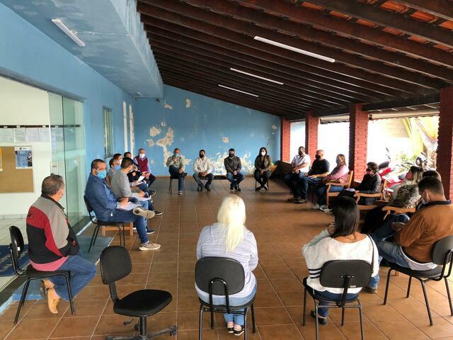 Reunião com os Corretores de Imóveis de Ilha Comprida - 15 de maio de 2020.