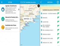 A CETESB disponibiliza aplicativo gratuito para celular que informa a qualidade das praias.