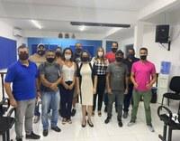 APAE de Ilha Comprida se reuniu, na Câmara Municipal, com a Presidente e demais Vereadores.