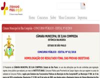 Concurso Público nº 002/18 - Motorista e Proc. Jurídico - RESULTADO FINAL.