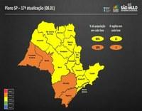 Coronavírus: Governo de SP endurece quarentena e quatro regiões vão para fase laranja.