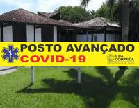CORONAVÍRUS: Prefeitura instala POSTO AVANÇADO com atendimento 24h no Espaço Cultural Plínio Marcos.