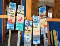 """Prefeitura anuncia ações de limpeza das praias, instalação da escultura da baleia no Viaréggio e campanha """"Compartilhe Boas Ideias""""."""